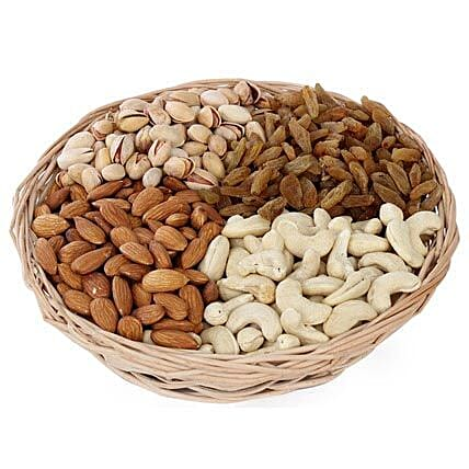 One kg Dry fruits Basket: Dry Fruits Gift Packs