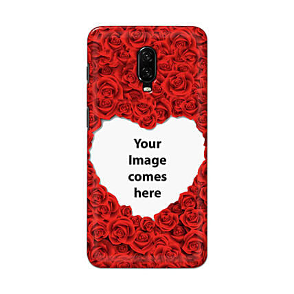 One Plus 6T Customised Hearty Mobile Case: