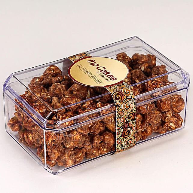 Peanut Butter Popcorn Box: Gourmet Gifts