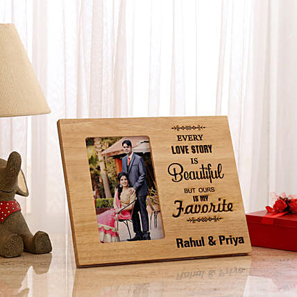 7dfb2eab38 Personalised Beautiful Love Story Photo Frame  Personalised Photo Frames  Gifts