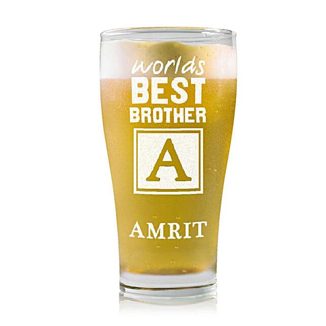 Personalised Beer Glass 2219: Personalised Beer Glasses