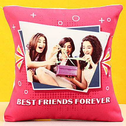 Personalised Best Friends Forever Cushion: Friendship Day Gifts