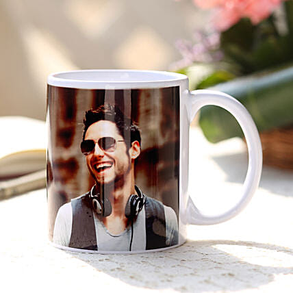 Personalised Love White Ceramic Mug Birthday Gifts For Boyfriend