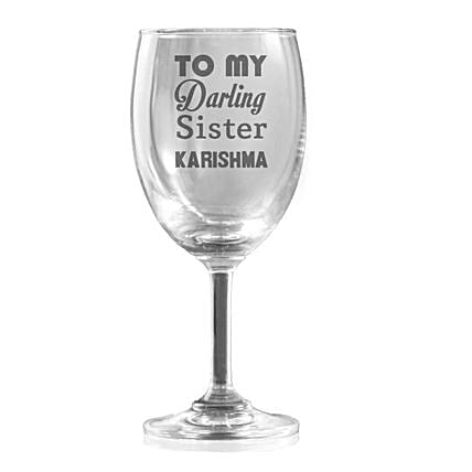 Personalised Set Of 2 Wine Glasses 1328: