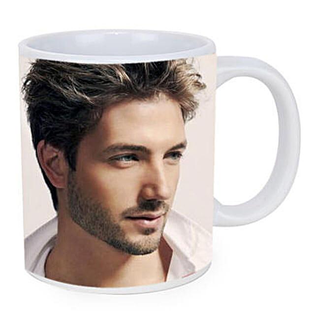Personalised White Ceramic Mug: Anniversary Mugs