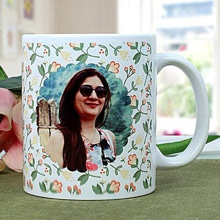 Personalised Woman Power Photo Mug: Friendship Day Personalised Mugs