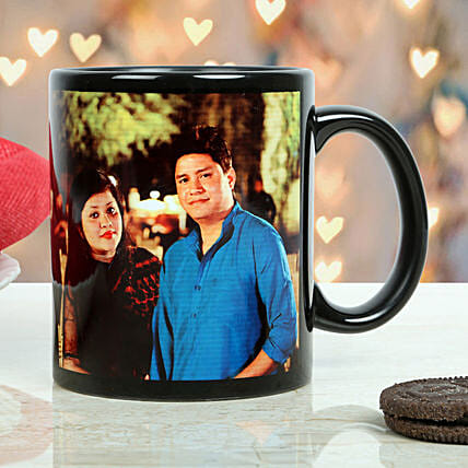 Personalized Couple Mug: Send Gifts to Bharatpur