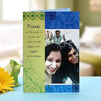 Personalized greeting card: Girlfriends Day Gifts