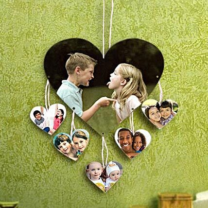 Personalized Love On Wall: Photo Frames