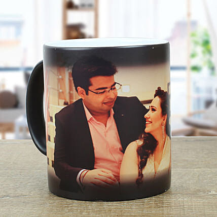 Personalized Magic Mug Send Anniversary Gifts For Husband