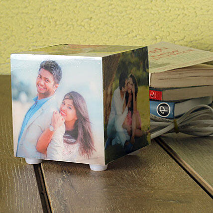 Personalized Memories Lamp: Send Gifts to East Godavari