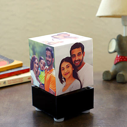 Personalized Rotating Lamp Mini Send Anniversary Gifts For Husband