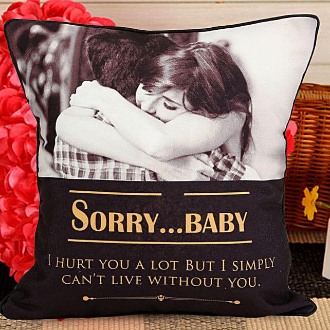Personalized Sorry Cushion  Buy Cushions 5f6324636c
