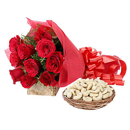 Pleasant Touch: Flowers & Dry Fruits