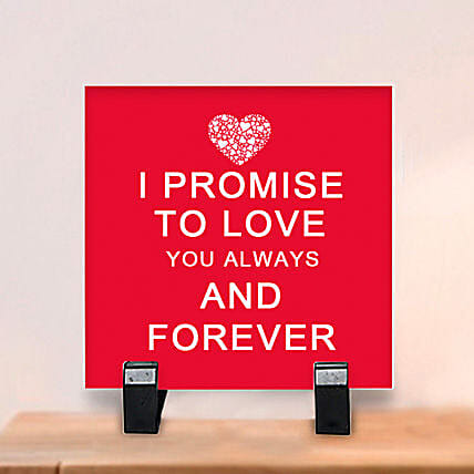 Promise to Love: Plaques Gifts