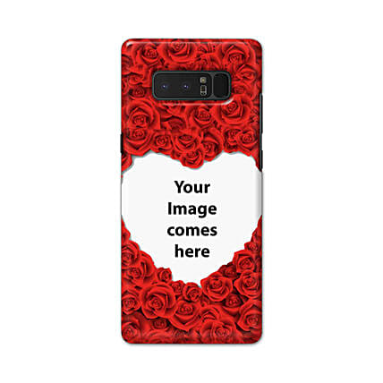 Samsung Galaxy Note 8 Customised Hearty Mobile Case: Samsung Phone Personalised Back Covers