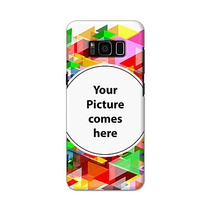 Samsung Galaxy S8 Customised Vibrant Mobile Case: Personalised Mobile Covers