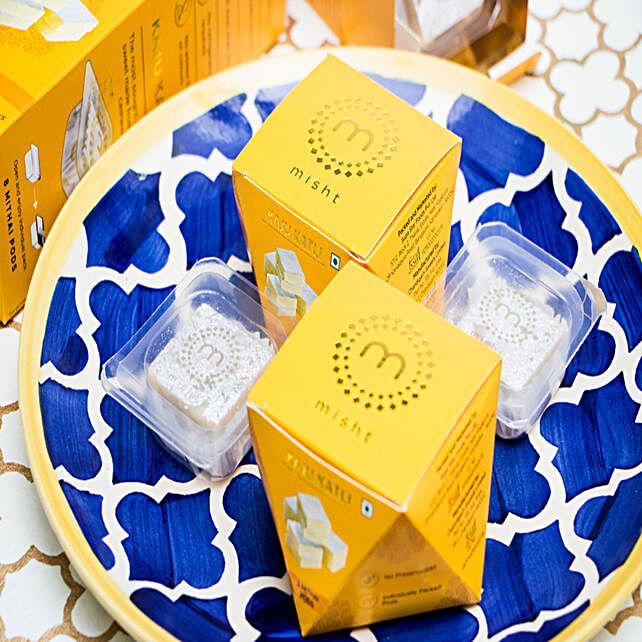 Scrumptious Kaju Katli Box 90 gms: Ganesh Chaturthi Gifts