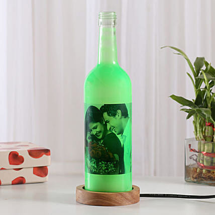Shining Memory Personalized Lamp: Good Luck Gifts