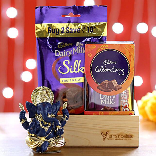 Silk Fruit & Milk Multi Pack With Ganesha Idol: Cadbury Chocolates