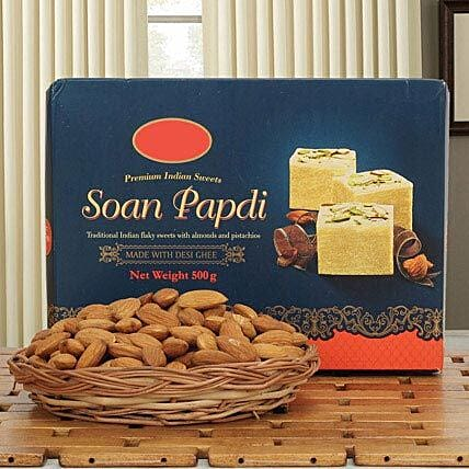 Soan N Almond Hamper: Sweets & Dry Fruits for Eid