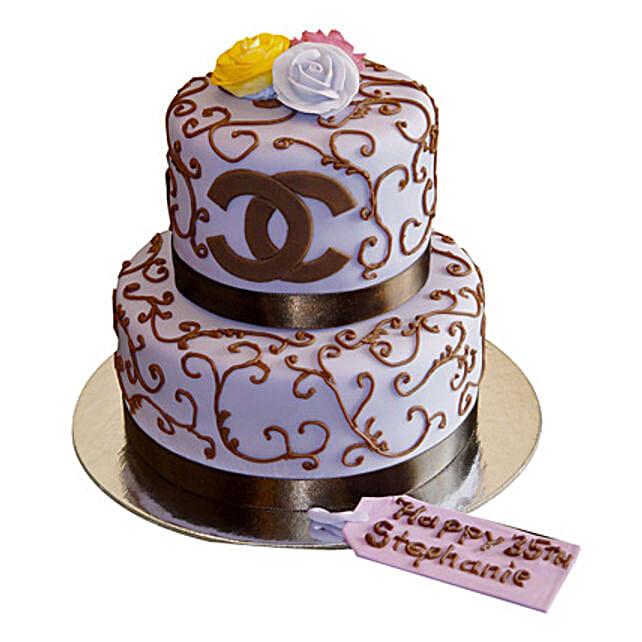 Special Chanel Cake: Birthday Premium Cakes
