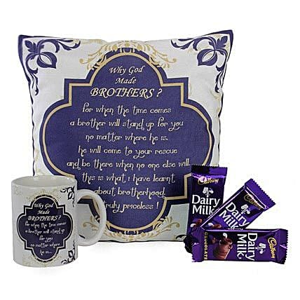 Special Combo For Brother: Send Bhai Dooj Gift Hampers
