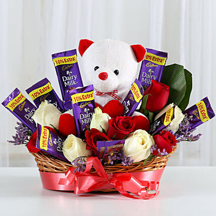 Special Surprise Arrangement Birthday Gifts For Her