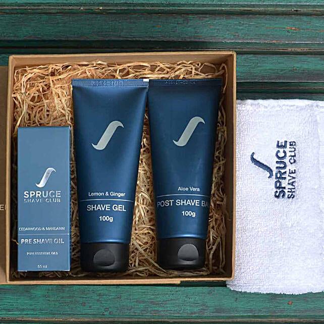 Spruce Shave Club Citrus Shave Trio: Send Gift Hampers
