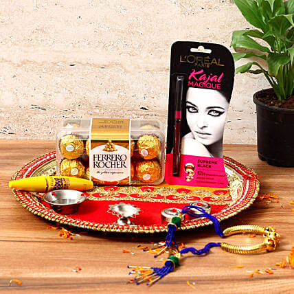 Stylish Karwa Chauth Gift Hamper: Send Pooja Thali