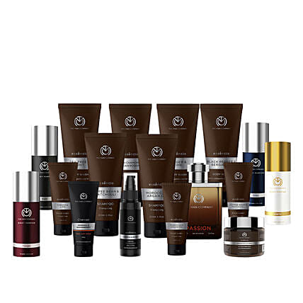The Man Company 180 Days Grooming Kit: Cosmetics & Spa Hampers