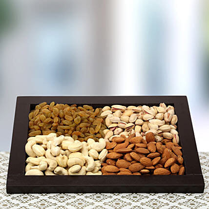 The Tray of Health: Dry Fruits