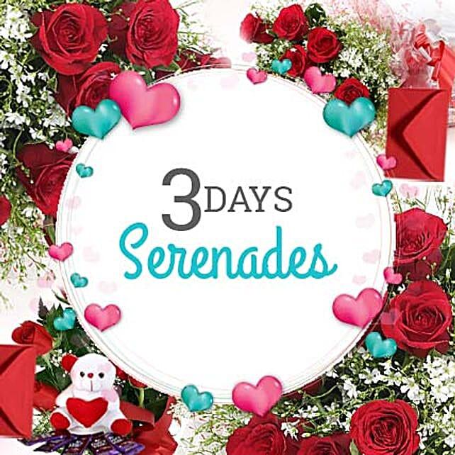 3 Days Valentine Love Everyday: Send Flowers & Cards