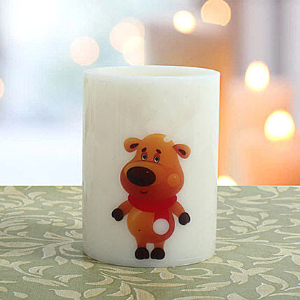 Adorable Hollow Candle: Christmas Gifts for Friend
