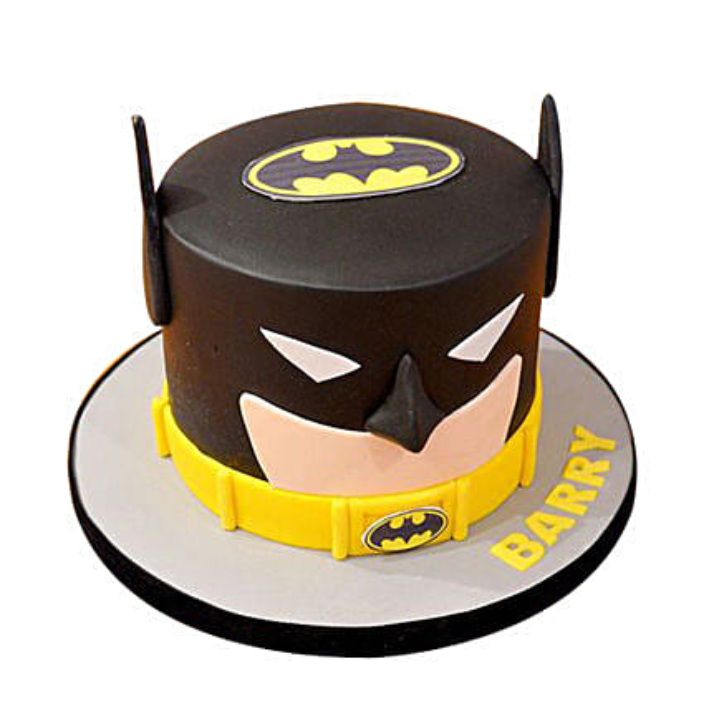 Batman Mask Cake: Batman Theme Cakes