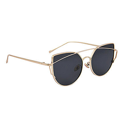 Black Round Unisex Sunglasses: Fashion Accessories