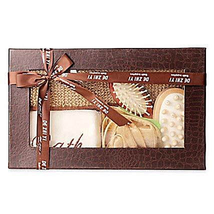 Brown Body Spa Kit: Cosmetics & Spa Hampers