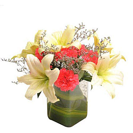 Contemporary Elegance: Send Lilies for Him