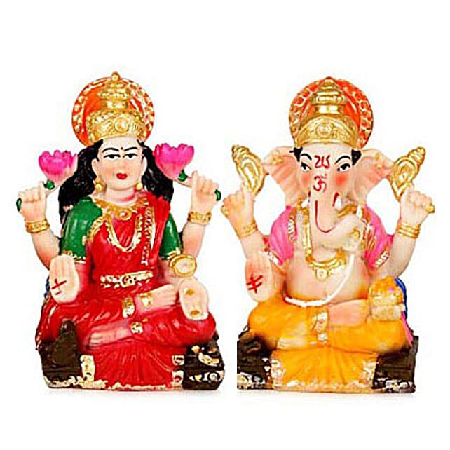 Divinity with Prosperity: Laxmi Ganesha Idol Gifts