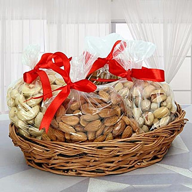 Dry Fruits Reloaded: Send Bhai Dooj Gift Baskets