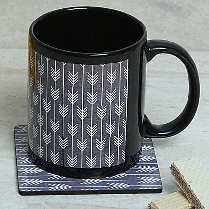 Elegant Choice Mug With Coaster: Coasters Gifts