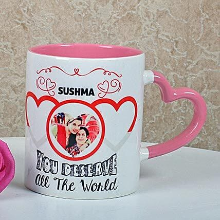 Full Of Love Personalized Mug: Best Gifts to India