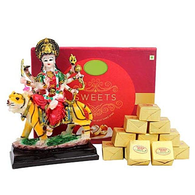 Goddess Durga and Sweets: Handmade Gifts
