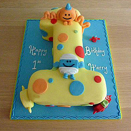 Happy Birthday Toddler Cake: