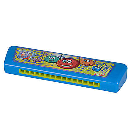 Harmonica with Cool Dude Smiley: Toys and Games