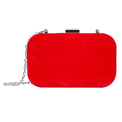Lino Perros Shiny Red Women Clutch: Accessories