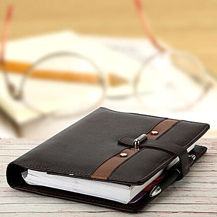 Lock It Organiser: Leather Gifts