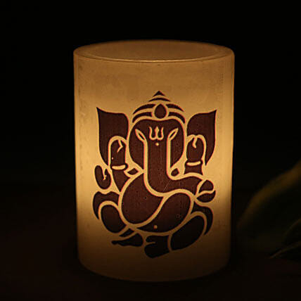 Lord Ganesha Candle: Candles