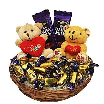 Love Rules Hamper: Send Womens Day Gift Baskets