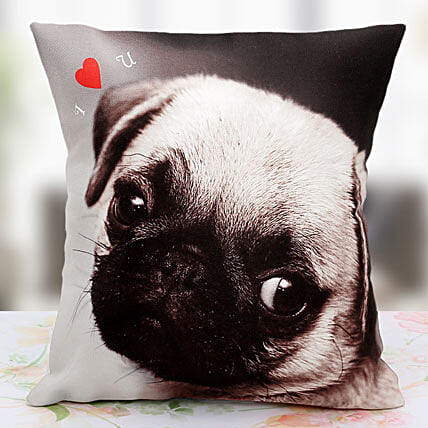 Loving the Pet Personalized Cushion: Send Anniversary Gifts for Bhaiya Bhabhi